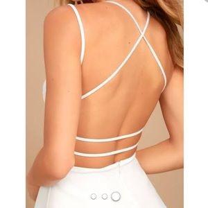 Lulu's Dresses - Backless skater dress